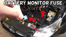 battery monitor system fuse location and replacement ford