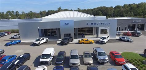 About Summerville Ford In South Carolina, Serving