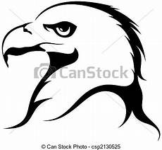 stock illustrations of eagle isolated on white
