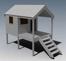 cubby house plans diy cubby house play house build one with your children