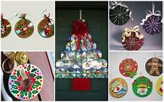 15 last minute diy decorations made of cd discs