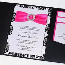 damask wedding invitations black and img 4115