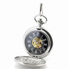 Uhr Malvorlagen Xl Taschenuhr Zum Aufklappen Aus Silbernem Edelstahl Mit