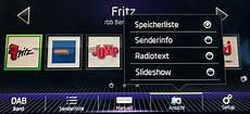 Dab Radiotext Im Auto Anzeigen Dab Empfang