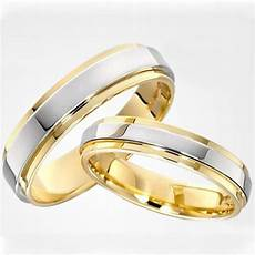 two tone gold and platinum plated his and hers engagement wedding ring mens rings size 15