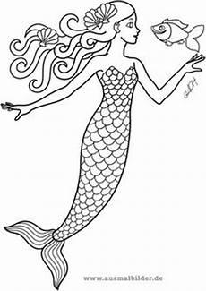 Ausmalbilder Meerjungfrau Mit Seepferdchen Ausmalbilder Meerjungfrau Ausmalbilder F 252 R Kinder