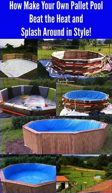 Swimmingpool Aus Paletten - how make your own pallet pool beat the heat and splash