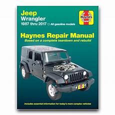 car repair manuals online pdf 1992 jeep wrangler spare parts catalogs haynes repair manual for 1987 2017 jeep wrangler shop service garage book hy ebay