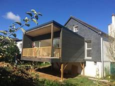 veranda sur pilotis pourquoi choisir une extension en bois sur pilotis