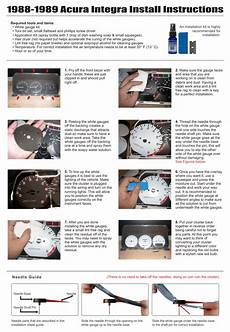 1989 acura integra ac wiring 1988 1989 acura integra white gauges whitegauges net