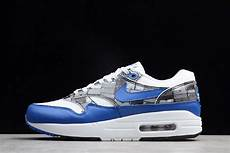 atmos x nike air max 1 quot we nike quot white blue grey for sale