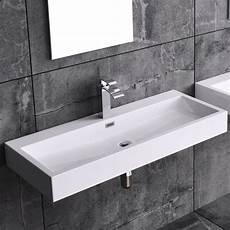 Design Gussmarmor Waschbecken Waschtisch Mineralguss