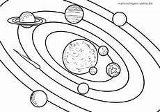 Malvorlagen Planeten Und Sterne Malvorlage Planeten Umlaufbahn Ausmalbilder Malvorlagen
