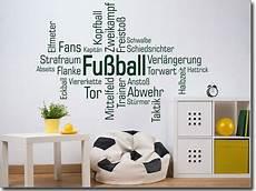 wortwolke fussball zimmer ideen