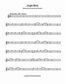 jingle bells sheet music by j pierpont alto saxophone