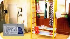 garderobe aus leitern coole leiter garderobe handmade mit enie mach s