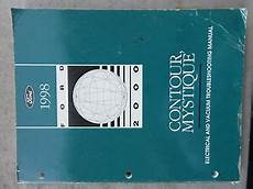 free auto repair manuals 1997 ford contour engine control 1998 ford contour mystique electrical wiring diagrams service manual oem factory ebay