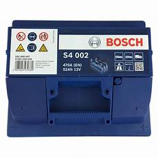 Bosch Starterbatterie S4 002 552 400 047 12v 52ah 470a En