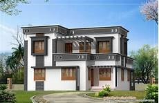 contemporary kerala style house plans modern unique kerala house plan at 1760 sq ft