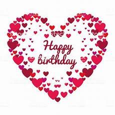 vorlagen herzen malvorlagen happy birthday happy birthday card with stock illustration