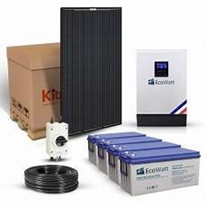 kit solaire 3000w autonome hybride 48v 230v stockage