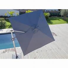parasol deporte orientable 360 parasol d 233 port 233 3x3 m orientable et rotatif en aluminium