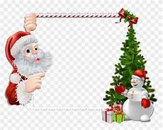 marco de foto santa claus clipart rahmen weihnachten