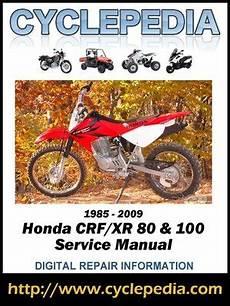 honda crf100f wiring diagram honda crf80f xr80 crf100f xr100r 1985 2009 service manual by cyclepedia press llc 183 overdrive