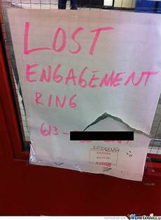 lost engagement ring by bokifide meme center