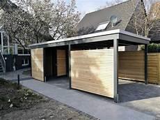 Anlehncarport Mit Abstellraum - unsere carportvielfalt im modernen design carporthaus
