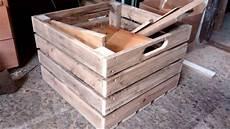 2 Fabrication D Une Caisse 224 Chutes En Bois De Palettes