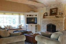 Ideas Next To Fireplace by Corner Tv Next To Fireplace For The Home