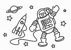 dibujo para colorear astronauta dibujos para imprimir gratis