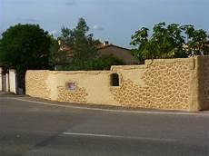 mur en crepis mur de cl 244 ture en cr 233 pi 224 vidauban simulapierre