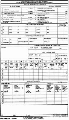 fm 6 40 blank forms