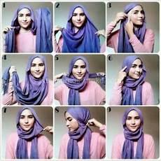 Tutorial Jilbab Segi Empat Tanpa Ciput Ragam Muslim