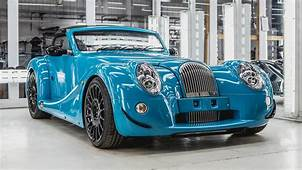 The First Morgan Aero GT Is Quite Blue  Top Gear