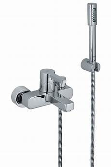 grohe lineare bath shower mixer tap with shower kit