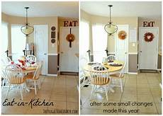 Decorating Ideas For Eat In Kitchen by Some New Kitchen A Bit Of Fall Decorating