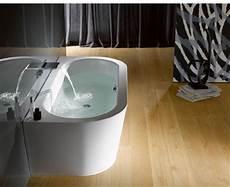 freistehende badewanne an die wand stellen badewannen aus stahl email freistehend an der wand