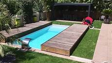 Rolling Deck 174 Terrasse Mobile De Piscine En 2 Modules En