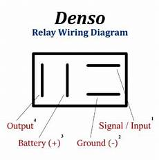 Denso Relay 4 Pin Wiring Diagram Benign