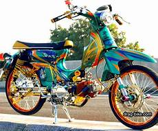 Modifikasi Motor by 40 Foto Gambar Modifikasi Honda C70 Kontes Airbrush