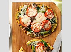 grilled veggie pizza_image