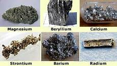 alkaline earth metals definition location in the