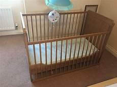 ikea cot and cot bed in radcliffe manchester gumtree