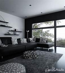 interior design in black black and white interior design ideas pictures