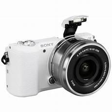 Sony Alpha 5100 Sony Alpha 5100 Kit White Sel P 16 50 Mirrorless