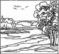 voegel im wind ausmalbild malvorlage landschaften