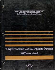 vehicle repair manual 1997 mercury villager engine control 1997 mercury villager repair shop manual original